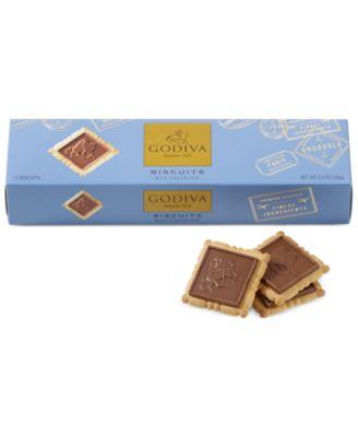 Godiva Chocolatier, 12-Pc. Signature Milk Chocolate Biscuits