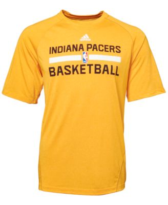 adidas Men's Indiana Pacers Climalite Practice T Shirt