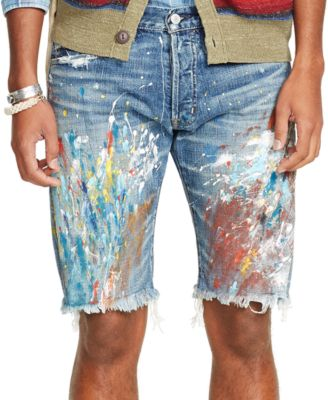 Denim & Supply Ralph Lauren Slim-Fit Abram Denim Shorts - Shorts ...