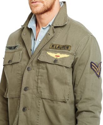 Denim & Supply Ralph Lauren Military Shirt Jacket - Coats ...