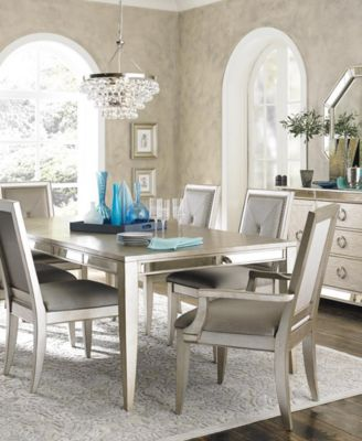 Ailey 7 Piece Dining Room Furniture Set - Furniture - Macy\'s