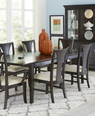 Edgewater 9 Piece Dining Table Set 6 Side Chairs 2 Arm