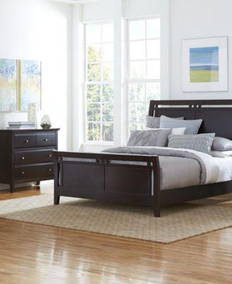 Edgewater Nightstand 2 Drawer Furniture Macy s