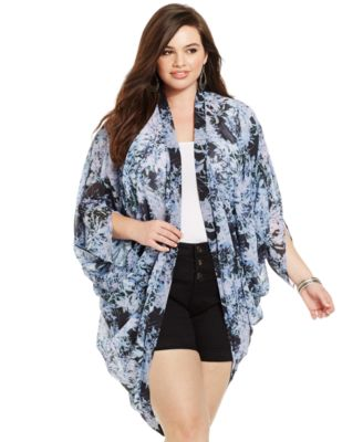 Image result for plus size kimono