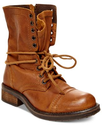 Steve Madden Tropa 2.0 Combat Boots - Boots - Shoes - Macy's