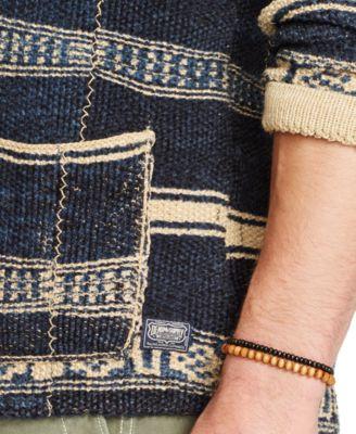 denim supply ralph lauren indigo shawl cardigan - Ralph Lauren Indigo