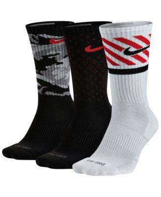 Mens Calcetines De La Tripulación Mosca Nike Dri-fit Lectura 3-pack comprar barato original gYj16Mo5bV
