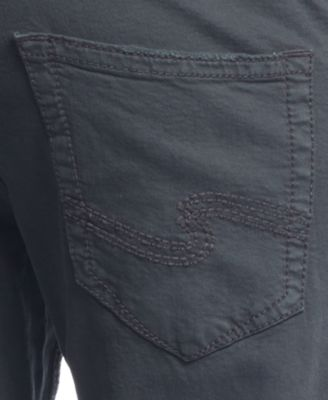 Silver Jeans Zac Relaxed Straight Twill Jeans - Jeans - Men - Macy's