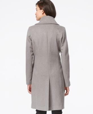 Cole Haan Clean Front Walker Coat Coats Women Macy S