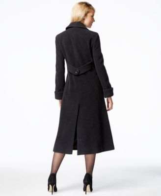 Jones New York Petite Wool Maxi Coat - Coats - Women - Macy's