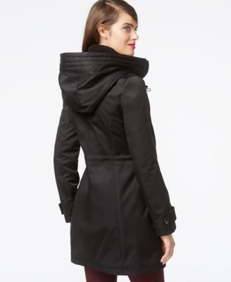 kensie Quilted Parka Jacket - Coats - Women - Macy's