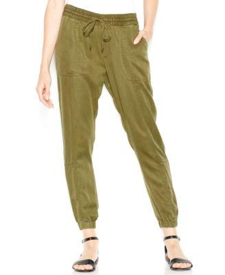 Lucky Brand Drawstring Cargo Pants - Pants & Capris - Women - Macy's