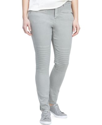 Violeta by Mango Plus Size Moto Skinny Jeans, Colored Wash - Jeans ...