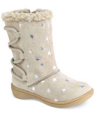 Carter's Little Girls' Fluffy Boots - Shoes - Kids & Baby - Macy's