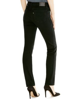 Levi's® 712 Slim-Fit Jeans, Soft Black Wash - Jeans - Juniors - Macy's