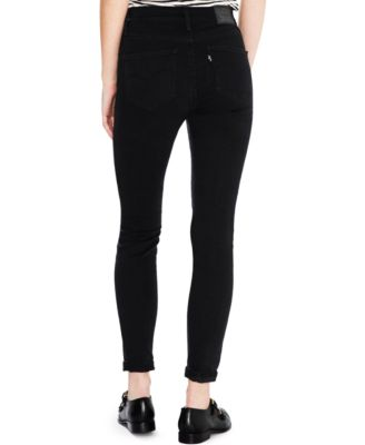 Levi's® 721 High-Rise Skinny Jeans, Soft Black Wash - Jeans ...