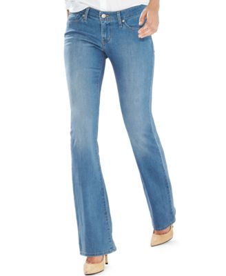 Levi's® 815 Curvy Bootcut Jeans, Inkwell Wash - Jeans - Juniors ...