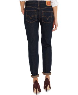 Levi's® 501® CT Customized Tapered Boyfriend Jeans, Rapid Rinse ...