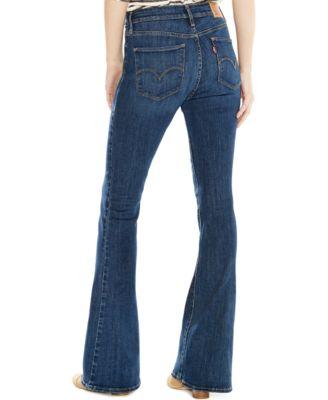 Levi's® High-Rise Flared Jeans, Springtide Indigo - Jeans ...
