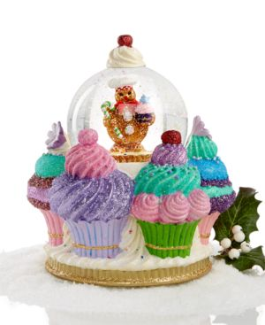 Christopher Radko Ginger Cake Delights Snow Globe