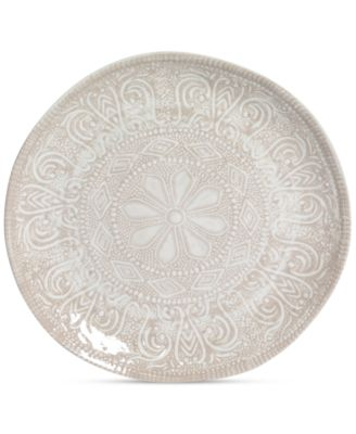 Maison Versailles Castleware Melamine Round Taupe Salad Plate