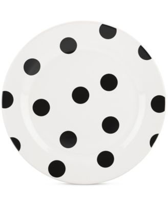 kate spade new york all in good taste Deco Dot Accent Plate