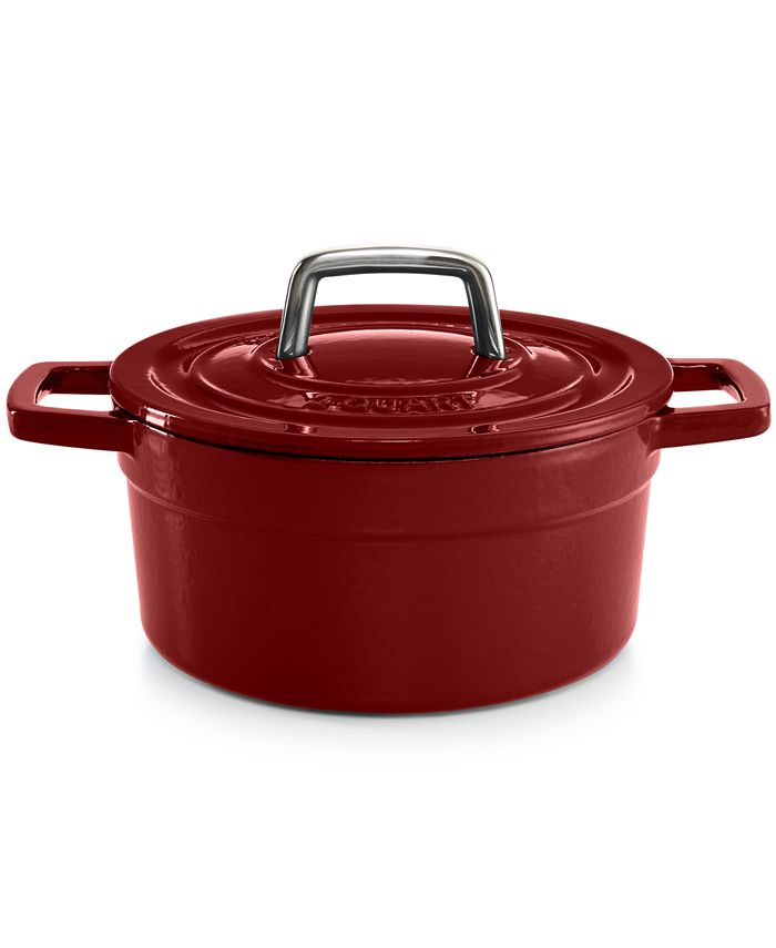 Martha Stewart Collection - Collector's Enameled Cast Iron 2 Qt. Round Casserole
