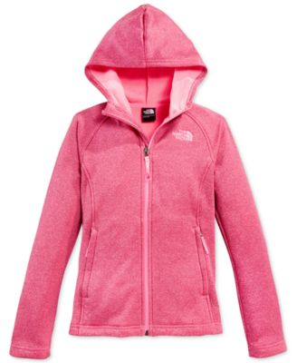 The North Face Girls' Agave Fleece Hoodie Jacket - Kids & Baby ...