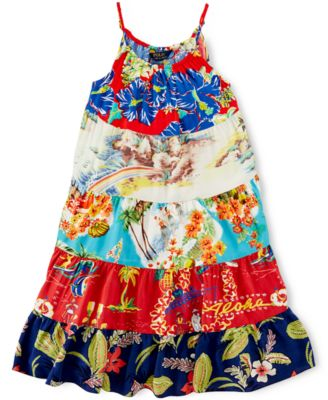 Ralph Lauren Girls' Hawaiian Dress - Kids & Baby - Macy's