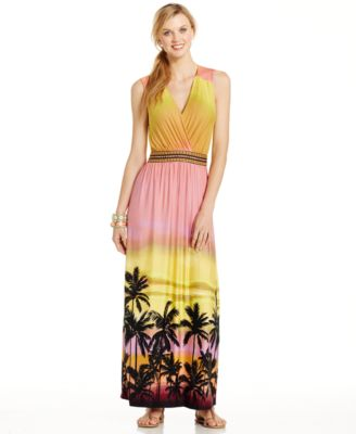 Spense black maxi dress