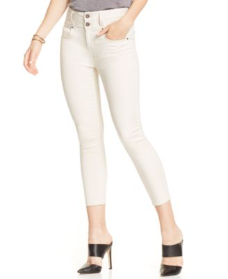 Tinseltown Juniors' High-Waisted Capri Skinny Jeans, Barbados ...