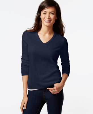 Charter Club Cashmere V-Neck Sweater In 21 Colors, Only at Macy's ...
