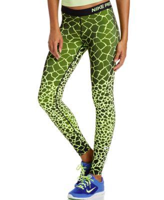 Nike Pro Engineered Dri FIT Giraffe Print Leggings