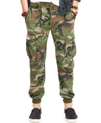 Polo Ralph Lauren Cargo Jogger Pants - Pants - Men - Macy's