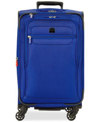 "Delsey Helium Fusion 21"" Expandable Spinner Suitcase, Only at Macy's"
