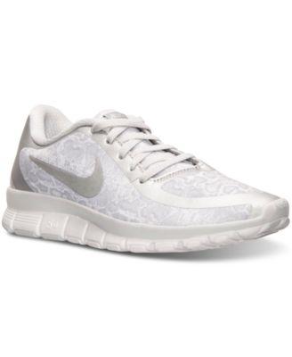 Femmes Nike Free 5.0 V4 Chaussures De Course Dimpression 79,98 $