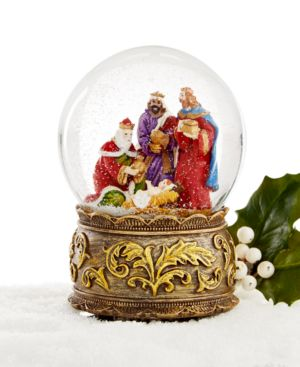 Holiday Lane Wisemen Musical Snow Globe, Only at Macy's