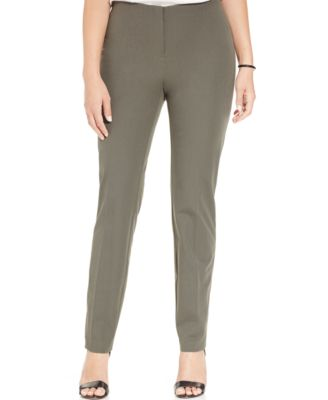 Alfani Plus Size Ankle Skinny Pants - Pants - Plus Sizes - Macy's