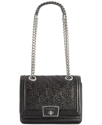 Calvin Klein Quilted Shoulder Bag - Handbags & Accessories - Macy's : calvin klein quilted leather crossbody bag - Adamdwight.com