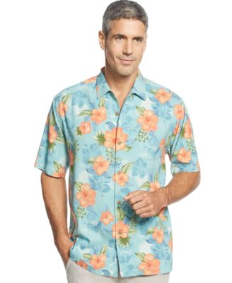 Tommy Bahama Core Short-Sleeve Catalina Twill Shirt - Casual ...