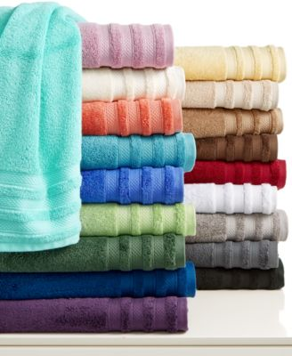 "Charter Club Classic Pima Cotton 13"" Square Washcloth, Only at Macy's"