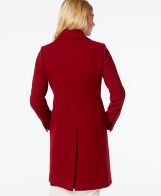 Anne Klein Petite Wool-Cashmere Walker Coat - Coats - Women - Macy's