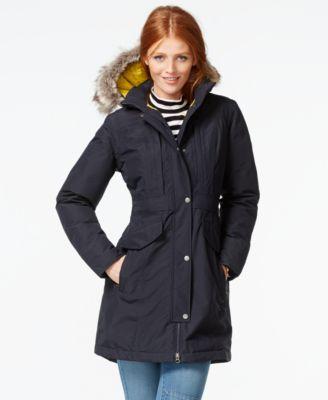 The North Face Kiara Hooded Faur-Fur-Trim Puffer Parka - Coats ...