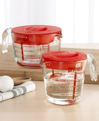 Pyrex Accents Covered 2-Cup Measuring Cup
