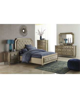 prosecco 3 piece california king bedroom furniture set with chest