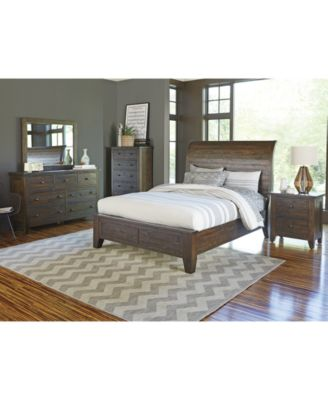 ember 3 piece king bedroom furniture set with chest - furniture