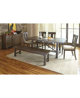 Ember Piece Dining Room Furniture Set Furniture Macys - Macys dining room sets