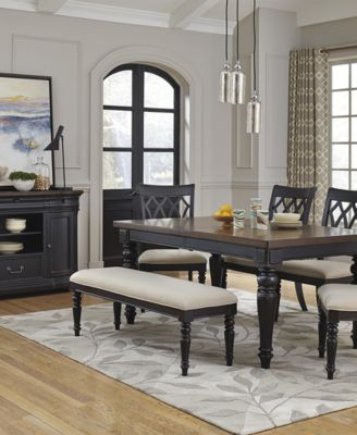 Durango 7 Piece Dining Room Furniture Set - Furniture - Macy\'s
