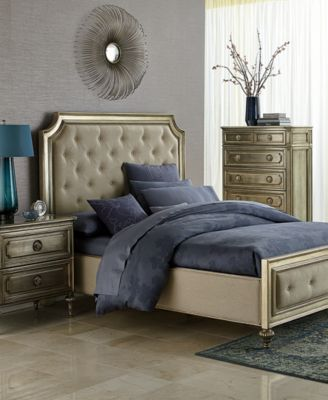Prosecco Piece California King Bedroom Furniture Set With Chest - Ailey bedroom furniture