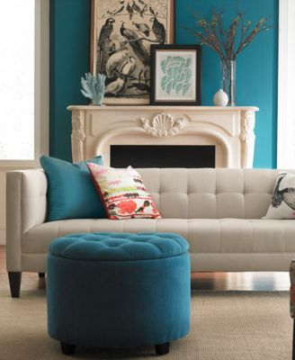 Briel Tufted Tight Back Amp Seat Sofa Collection Furniture